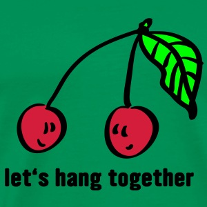 let's hang together 3farbig T-Shirts - Männer Premium T-Shirt