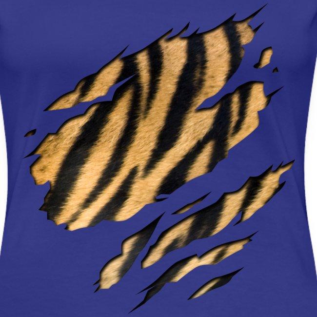 Tiger Shirt divablue