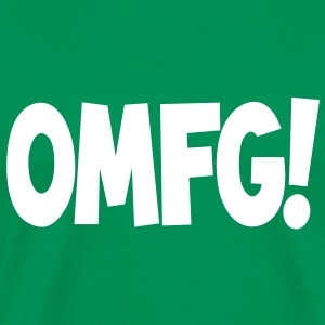 omfg Tee shirts - T-shirt Premium Homme