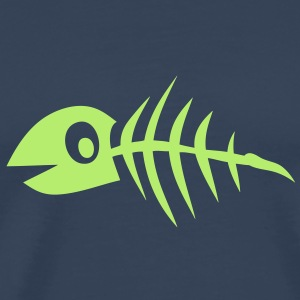poisson fish arete bone fischgrate1 Tee shirts - T-shirt Premium Homme