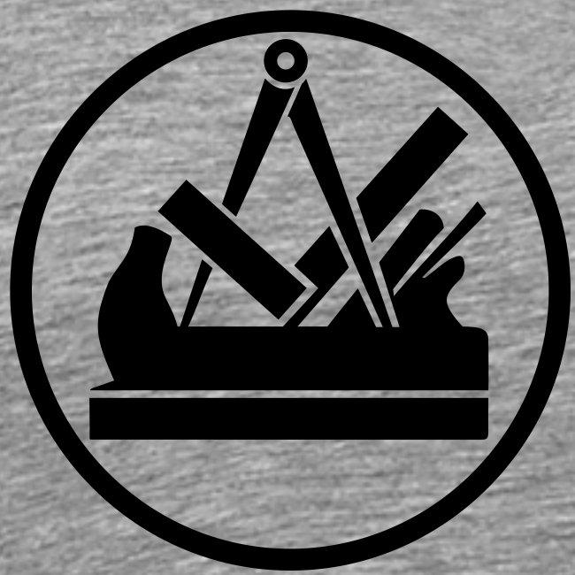 Tischler Zeichen handwerker bekleidung männer t shirts mit tischler logo zunft
