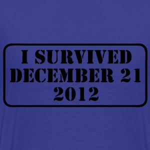 i survived T-Shirts - Men's Premium T-Shirt