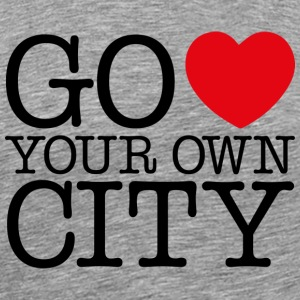 Go Love Your Own City T-Shirts - Men's Premium T-Shirt