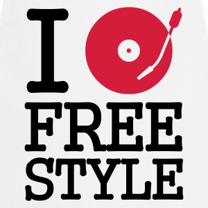 :: I dj / play / listen to freestyle :-: - Cooking Apron