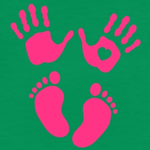 Hands and feet of a baby T-Shirts - Women's Premium T-Shirt