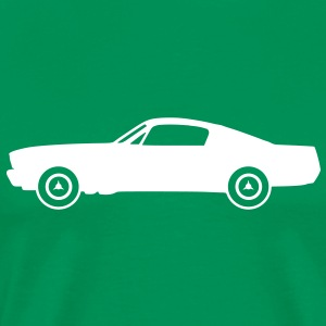 muscle_car_fastback Tee shirts - T-shirt Premium Homme