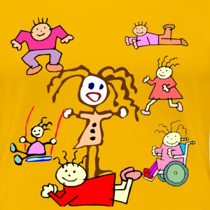 Scribble Kids Collection - Women's Premium T-Shirt