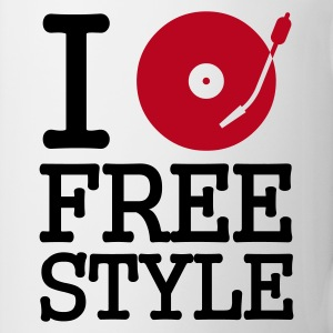 :: I dj / play / listen to freestyle :-: - Mug