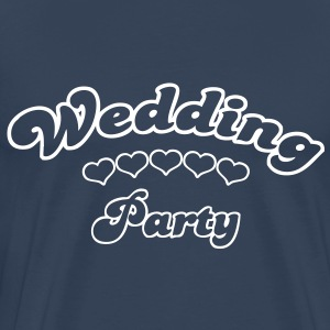 wedding party  T-shirts - Mannen Premium T-shirt