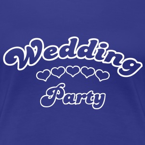wedding party  T-shirts - Dame premium T-shirt