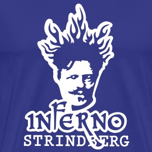 Inferno Strindberg Black 2c T-Shirts - Men's Premium T-Shirt