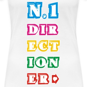 n.1 Directioner - Women's Premium T-Shirt