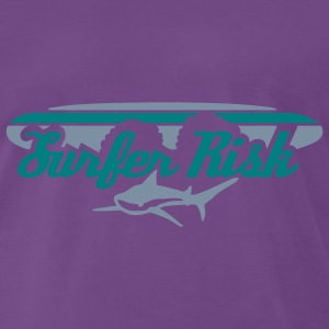surfer_risk T-skjorter - Premium T-skjorte for menn