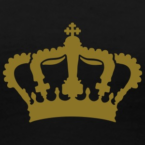 royal_crown - Premium-T-shirt dam