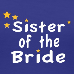Star Sister of the Bride T-Shirts - Women's Premium T-Shirt