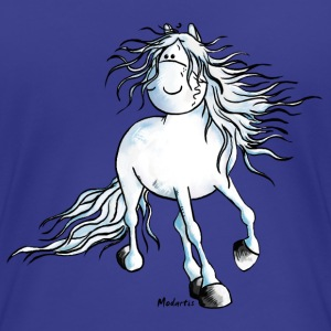 White Beauty - Andalusiër- Paard T-shirts - Vrouwen Premium T-shirt