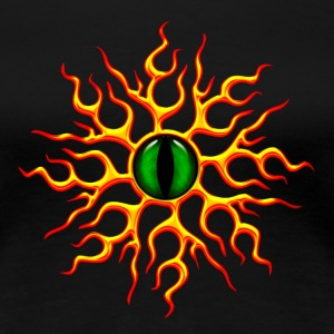 Dragon øje, Eye, dragoneye T-shirts - Dame premium T-shirt