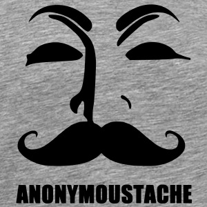 anonymoustache - T-shirt Premium Homme