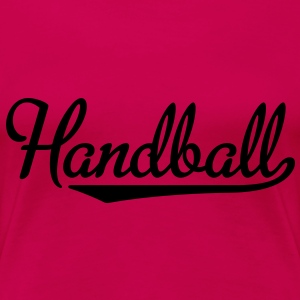 Handball T-Shirts - Frauen Premium T-Shirt
