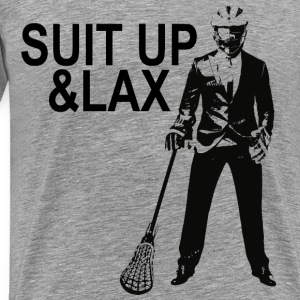 Suit Up & Lax T-Shirts - Männer Premium T-Shirt