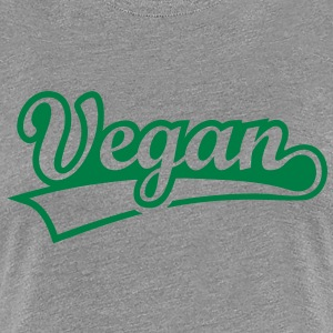 Vegan vegetarian animal welfare Go veggie Go green T-Shirts - Women's Premium T-Shirt