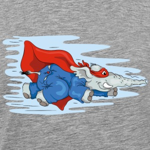 Heroes Sup-o-fant flying again! T-shirts - Herre premium T-shirt