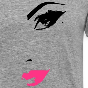 Beautiful Female Face T-Shirts - Men's Premium T-Shirt
