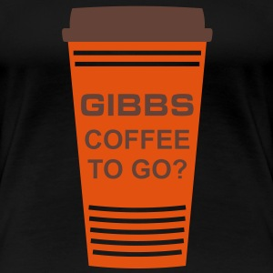 GIBBS COFFEE TO GO? | Frauen 3XL - Frauen Premium T-Shirt