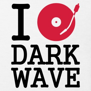:: I dj / play / listen to dark wave :-: - Camiseta ecológica niño