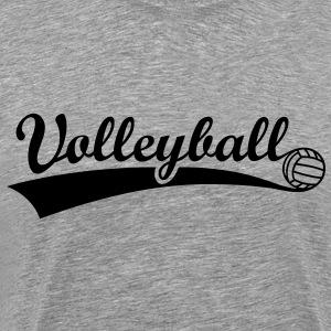 Volleyball Ball  T-skjorter - Premium T-skjorte for menn