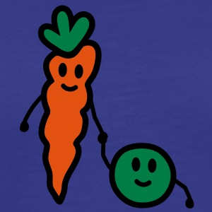 carrot_and_pea T-shirts - Herre premium T-shirt