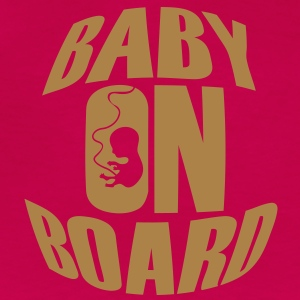Baby On Board T-shirts - Dame premium T-shirt