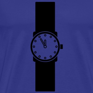 wristwatch T-shirts - Herre premium T-shirt