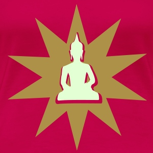 Buddha for shining aura T-Shirts - Women's Premium T-Shirt