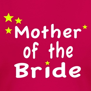 Star Mother of the Bride T-Shirts - Women's Premium T-Shirt