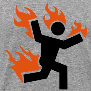 Do not set yourself on fire - Men's Premium T-Shirt