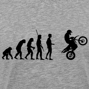 Evolution Enduro jump  T-Shirts - Men's Premium T-Shirt