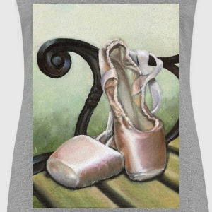 pointe shoes - Women's Premium T-Shirt