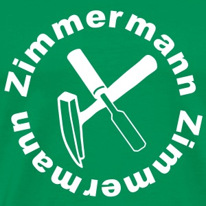 Carpentry - Zimmermann T-Shirts - Men's Premium T-Shirt