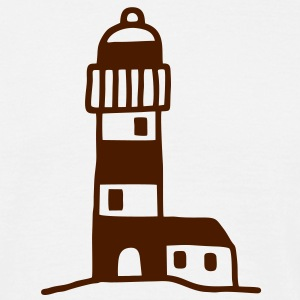 Lighthouse with cultivation T-Shirts - Men's T-Shirt