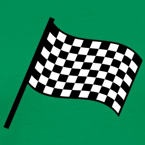 racing_flag T-shirts - Herre premium T-shirt