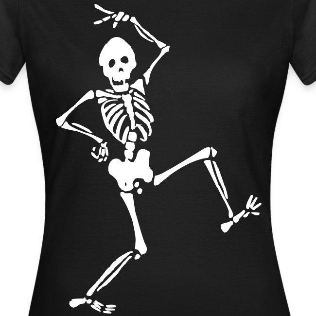 Tee-Shirt Femme - Squelette