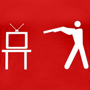 THE TV IS DEAD! Long Live Television! T-Shirts - Women's Premium T-Shirt