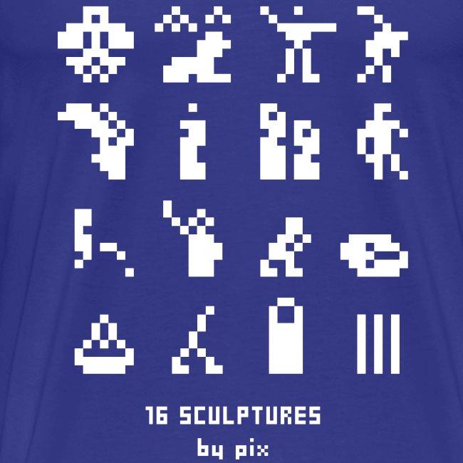 T-shirt-jeu 16·sculptures