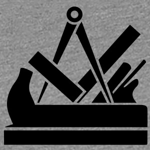 Joiner Carpenters guild sign Tools icon T-Shirts - Women's Premium T-Shirt