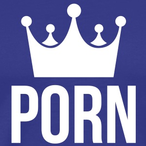 king of porn T-Shirts - Men's Premium T-Shirt