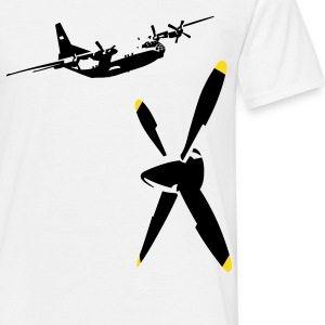 propeller T-shirts - Mannen T-shirt