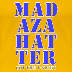mad hatter blue got shirt T-Shirts - Women's Premium T-Shirt
