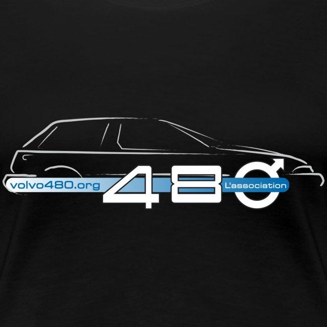 T-shirt classique femme - Logo association