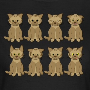 cat mood T-shirts - Vrouwen T-shirt